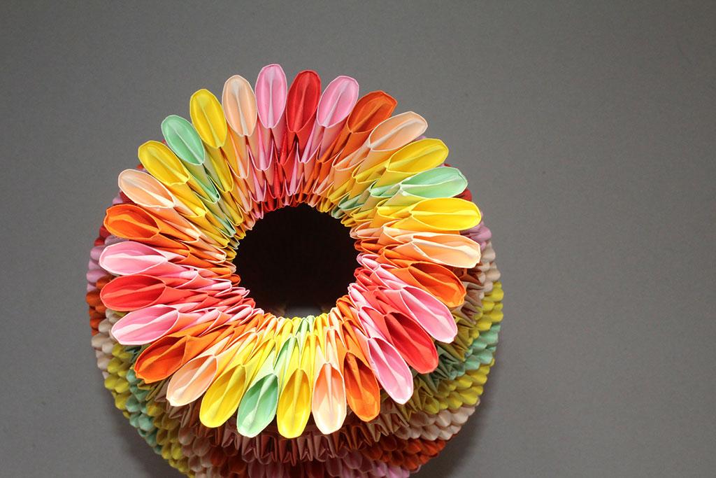 3d origami - Vase Flowers - YouTube | 683x1024
